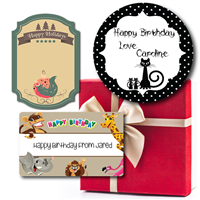Gift Labels & Ribbons